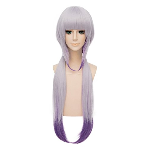 Probeauty Maid Costume Wigs ,Light Purple/Golden mix Purple Ponytail Cosplay Wig (Miss Kobayashi's Dragon Maid Kanna - 2014 Halloween Costumes