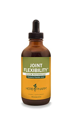 Herb Pharm Joint Flexibility Liquid Herbal Formula for Musculoskeletal System Support - 4 Ounce (Jamaican Root Sarsaparilla)