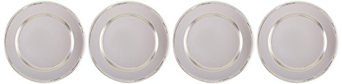 (Elegance Silver 82526 Nickel Plated Charger Plate, 12