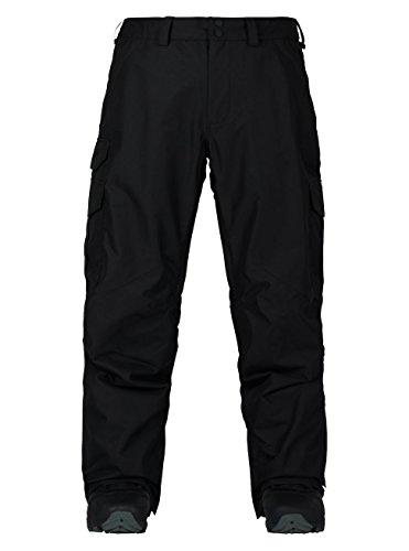 Burton Men's Cargo Pant Mid Fit, True Black '18, Medium (Black Snowboard Pants)