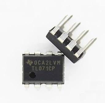 shinebear 100pcs Tl071TL071CP DIP-8bajo nivel de ruido jfet amplificadores operacionales entrada nuevo
