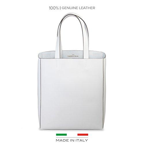 Sac à Blanc in à l'épaule pour Made femme Italia porter Fosca 8tngAFx