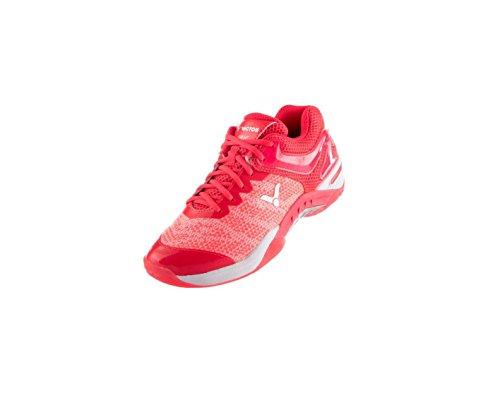 Q mujer para Pink Zapatillas de bádminton Victor S81F Fandango tPTYA