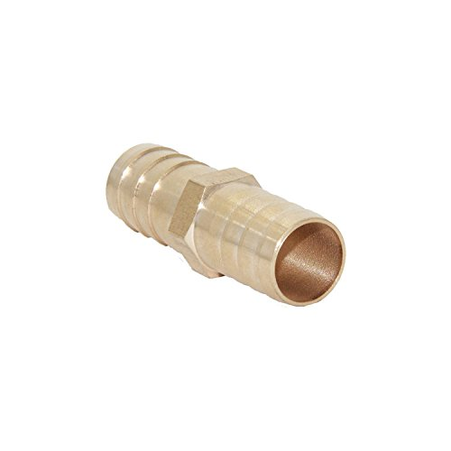 Pack of 5 Hex Union Brass Fitting Water//Fuel//Air Joyway 3//4 ID Hose Barb
