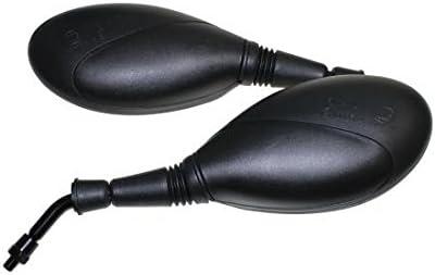 G RKS 250 R/ückspiegel Spiegel Set kompatibel mit Keeway RK 6 600 125 V7 RKV 200 RKS 125