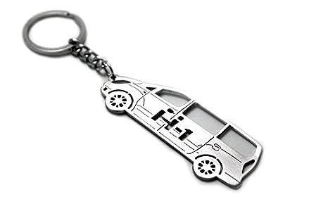 Llavero con anillo para Hyundai H-1 acero clave colgante ...