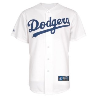 (Majestic Los Angeles Dodgers Cool Base Home Tackle Twill Baseball Jersey (Medium))