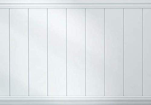 Boulanger 20809-KIT Primed MDF Beaded Wainscot Kit, Including Chair Rails and Base Boards, - Beadboard Panel