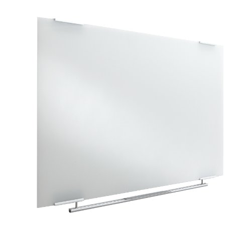 Iceberg ICE31140 Clarity Glass Dry Erase Whiteboard, 48