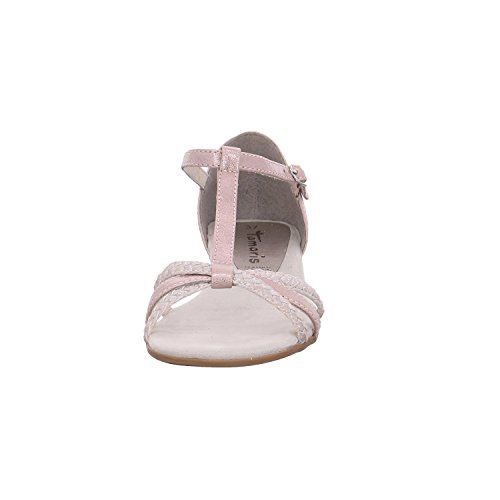 Tamaris Shoes 1-1-28137-28 Sandali Da Donna, Sandali, Scarpe Estive Rose-cassis
