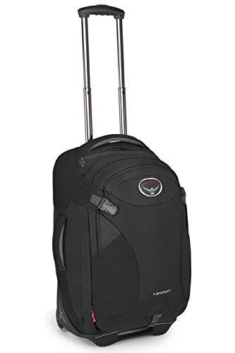 Osprey Meridian Wheeled Luggage (22-Inch60 Liter Metal Grey)