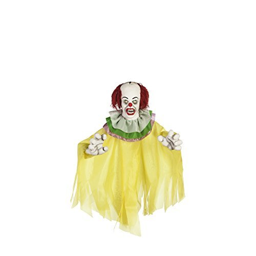 Rubie's Pennywise IT Clown Hanging Halloween Prop Decoration ()