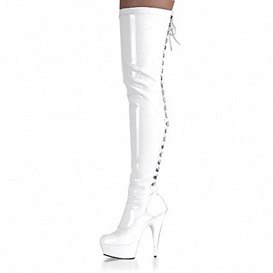 pwne Zapatos De Mujer Tacones De Charol / Plataforma / Moda Botas Tacones / Botas Parte &Amp; Noche Stiletto Talón US5 / EU35 / UK3 / CN34