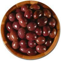 Deli Fresh Greek Black Olives, 16oz Dr.Wt.