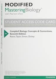 New MasteringBiology with Pearson Etext -- Valuepack Access Card -- for Campbell Essential Biology (with Physiology Chapters)