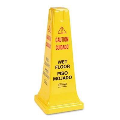 RCP627777 - Rubbermaid Four-Sided Caution ()
