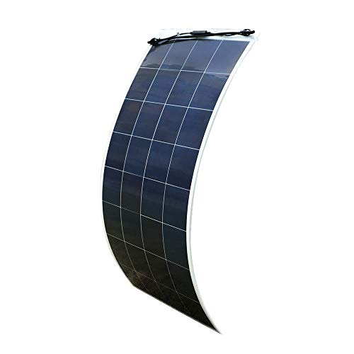 ECO-WORTHY 150W 18V Semi Flexible Solar Panel Battery Charger RV