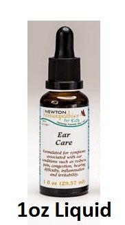Newton Labs Homeopathics Remedy Kids Ear Care 1oz Liquid