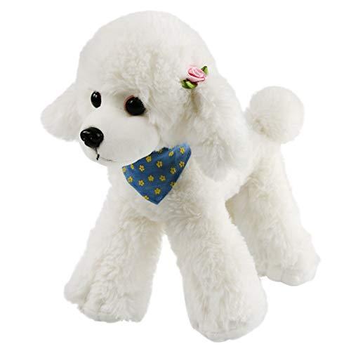 Stuffed Poodle - Athoinsu Realistic Stuffed Poodle Adorable Puppy
