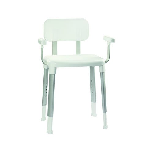Croydex Modular Shower Seat with Arms, White AP130422