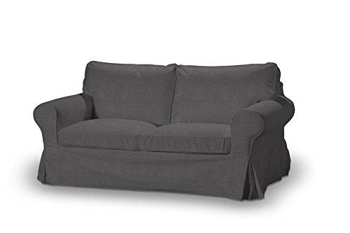 Dekoria Fire Retarding Ikea Ektorp 2 seater sofa cover graphite