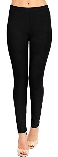 High+Quality+Solid+Brushed+Leggings+%28VP103-BLACK%29%2CFit+Size%3A+0+%28S%29+-+12+%28L%29