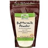 NOW Buttermilk Powder - 14 Oz. (Pack of 6)