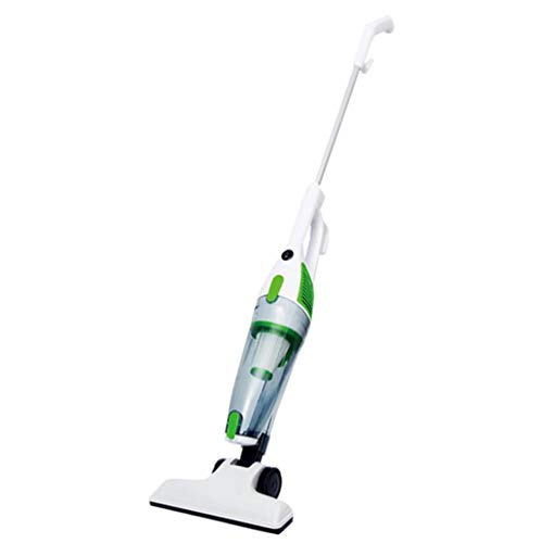 TQZY Handheld Upright Vacuum Cleaner Dry Vacuum Cleaner for Home Handheld Putter 2 in 1 Lightweight Design HEPA Filter Can Be Cleaned(Green) ()