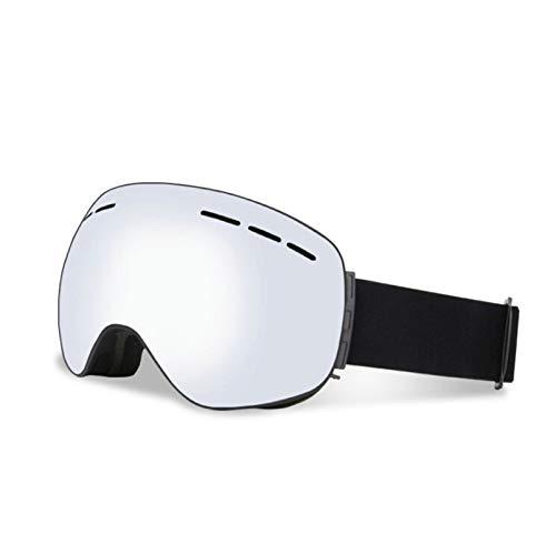 Anazoz Esqui Esféricas Plata Para Imán Negro Deporte De Protectoras Gafas Unisex Antivaho rgPIqtxr