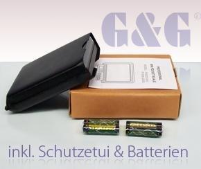 400g//0,05g MS Taschenwaage Feinwaage Digitalwaage Goldwaage M/ünzwaage Briefwage G/&G