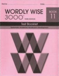 Wordly Wise - Test ebook