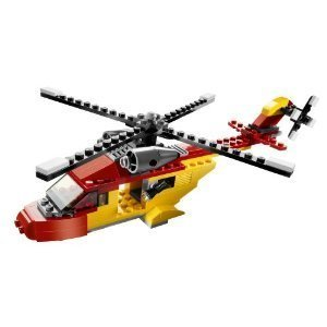 Lego Creator Rotor Rescue 3-In-1 Helicopter/Biplane/Speedboat 149 Piece Set by LEGO - Helicopter Rotor Speed
