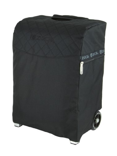 Zuca Flyer Artist Silver Frame with a Black Insert Bag, 5 Clear Vinyl Utility Pouches, and Matching Travel Cover - the Zuca Ultimate by ZUCA (Image #3)