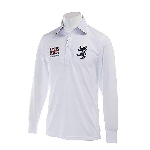 アドミラル Admiral 長袖シャツ?ポロシャツ 長袖 フラッグ ポロシャツ ADMA720 ホワイト 00 M