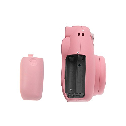 FoRapid Battery Door Cover Compatible with Fujifilm Instax Mini 8/ Mini 9 Instant Film Camera - Replacement or Backup (Pink) ()