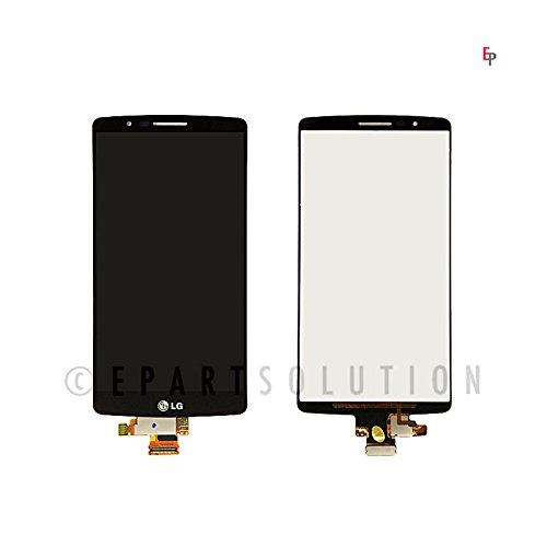 ePartSolution-OEM LG G4 H815 F500 LCD Display Touch Digitizer Screen Assembly Black Replacement Part USA Seller