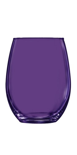 ARC Purple Stemless Wine Glass - Additional Colors Availa...