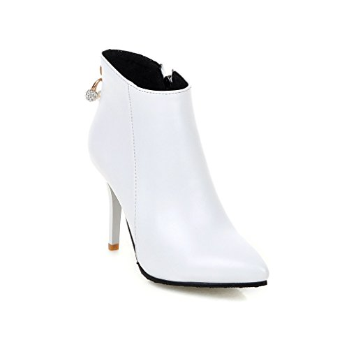 femme BalaMasa Abl09635 Blanc Compensées blanc Sandales AO7wOr8qt