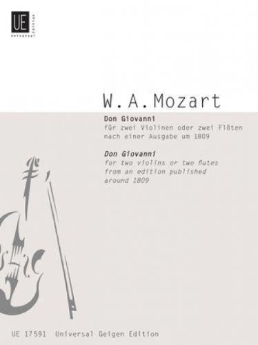 Don Giovanni KV 527. Violine, Flöte