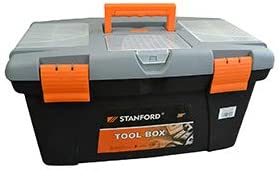 Stanford - Caja Herramientas con Departamentos 33 x 15 cm ...