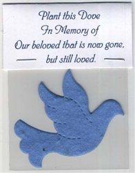 Set of 5 Plantable Dove Memorial ()