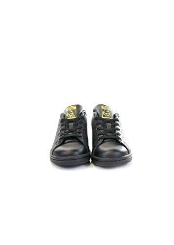 adidas Stan Smith J, Zapatillas de Deporte Unisex Niños Negro