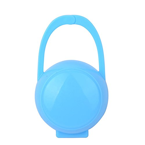 MB-LANHUA 1 St/ück Baby Schnullerhalter Feste Schnullerbox Schnullerbeh/älterhalter Schnullerbox Reisespeicherkoffer Sicherer Halter Schnuller PP Kunststoffbox Blau