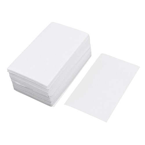 Uxcell Rectangle Shape Salon Home Hairdressing Water Dryer Perm Hair Paper 140pcs
