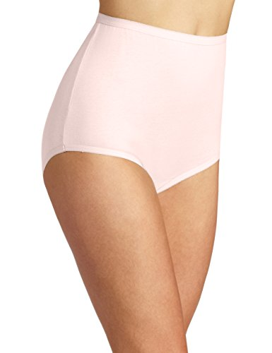 Ballet Panties (Vanity Fair Women's Perfectly Yours Tailored Cotton Brief Panty 15318, Ballet Pink, Large/7)