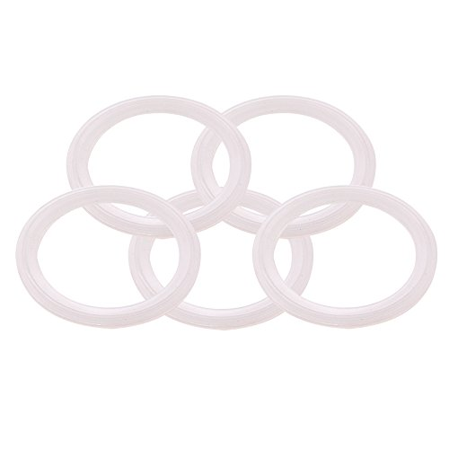 (DERNORD Silicone Gasket Tri-Clover (Tri-clamp) O-Ring - 2.5 Inch (Pack of 5))
