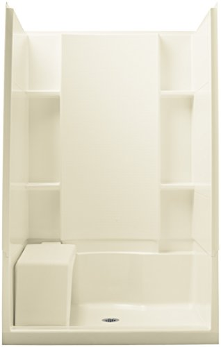 Sterling Shower Enclosures - STERLING 72280100-96 Accord Seated 36-Inch x 48-Inch x 74-1/2-Inch Shower Kit, Biscuit