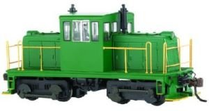 HO Spectrum 45-Ton w/DCC, Green/Yellow
