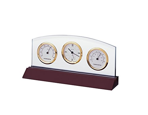 Bulova Weston Executive Clock -  B2835