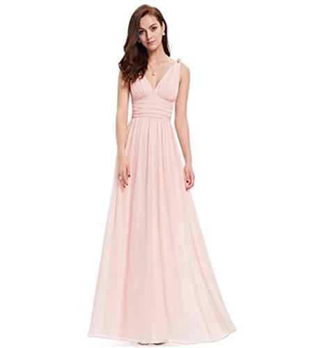 Kleid Drasawee A Pink Damen Linie xwOBq0wva